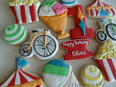 Carnival 1st Birthday, by Flour De Lis