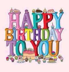 Gelukkige verjaardag ,geniet van deze mooie dag!!!  Dikke kus Rosa