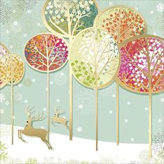 contemporary christmas cards - Google Search