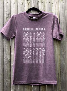 Hey, I found this really awesome Etsy listing at https://www.etsy.com/listing/127313708/ukulele-chords-unisex-tee-shirt