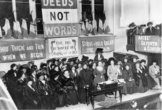 A look at the suffragette movement in the UK, and how British women got the right to vote. Deeds Not Words, Suffragette Jewellery, Emmeline Pankhurst, Suffrage Movement, Feminist Movement, Thick And Thin, Historical Pictures, Nurse Life, Mississippi