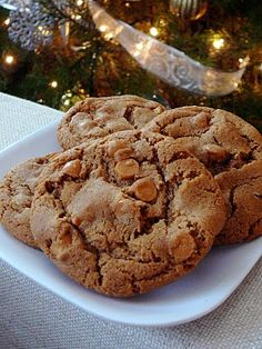 Baked Perfection: Butterscotch Gingerbread Cookies - These are my new favorites!!  So good! A unique combination of flavors that tickle the tastebuds...