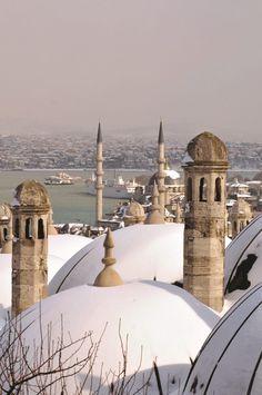 Süleymaniye külliyesi. Fatih - İstanbul.