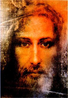 Jesus depiction based on The Shroud of Turin.