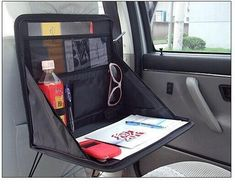 Cheap car laptop tray, Buy Quality car laptop desk directly from China laptop car table Suppliers: Car Backseat Laptop Desk Dining Table Folding Shelf Woven Fabric Storage Bag Auto Accessories Mount Holder Tray