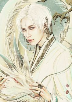 SHINee Taemin fanart- by RAVIOLILEE — with Septyasakurai.