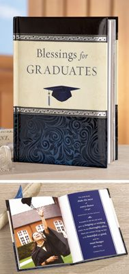 """""""Blessings for Graduate"""" Book Inspirational Graduation Gift"""