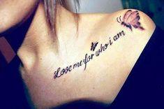 40 Stimulating Written Tattoos For Women - Bored Art