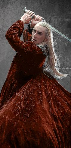Lee Pace as Thranduil in The Hobbit.