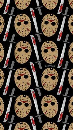 Screen Saver Horror Movie Characters Fondo Halloween Art Jason