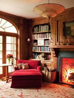 Oh heaven! Pull that chaise a little closer to the fire so I can gaze into the flames while pondering the words.