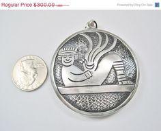 On Sale HUGE Vintage Aztec Cipactli Chacmool by BejeweledEmporium, $285.00
