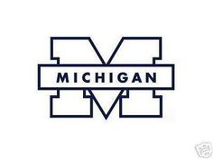 Car Window Stickers Decals Michigan State University Wolverines Laser Cut