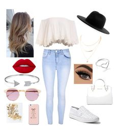 """""""😉❤️"""" by nicabianca on Polyvore featuring Glamorous, Steve Madden, Michael Kors, Études, Sheriff&Cherry, Bling Jewelry, Jordan Askill and Lime Crime"""