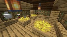 Friendly reminder that waterlogged slabs/stairs keep coral fans alive, wich look alot like chicken nests! Minecraft Seed, Minecraft Room, Minecraft Plans, Minecraft Tutorial, Minecraft Blueprints, Minecraft Crafts, Minecraft Furniture, Minecraft Medieval, Minecraft Stuff