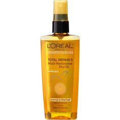 Free 2-day shipping on qualified orders over $35. Buy L'Oreal Paris Advanced Haircare Total Repair 5 Multi-Restorative Dry Oil 3.4 FL OZ at Walmart.com