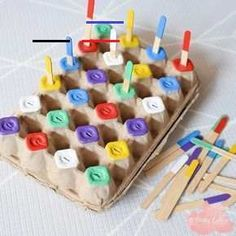 25 preschool activities for each Montessori activities # . - 25 preschool activities for each Montessori # preschool activities The p - Preschool Activities At Home, Motor Skills Activities, Toddler Learning Activities, Montessori Toddler, Montessori Activities, Infant Activities, Toddler Preschool, Toddler Crafts, Kids Learning