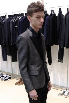 reinvent the blazer for spring!!! leather, suede, velvet trims!!!