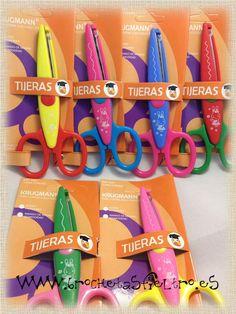 Pack 6 tijeras con formas 4,80€