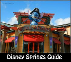 Disney Springs - Downtown Disney, located at the Walt Disney World Resort, is full of dining, entertainment and shopping opportunities.