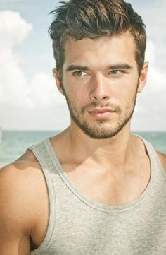 Represented by CHOSEN Models and Wilhelmina , Josh Swickard is an up and coming male model with boy-next-door looks and a gorgeous ph. Moustache, Beard No Mustache, Beautiful Eyes, Gorgeous Men, Romantic Men, Handsome Faces, Handsome Guys, Interesting Faces, Attractive Men