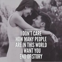 I want you, end of story! love love quotes love quotes and sayings love image quotes