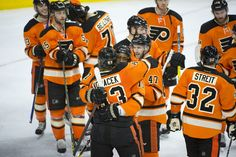The Philadelphia Flyers avoided missing the playoffs in consecutive seasons for the first time in over 20 years on Saturday, rallying for a 3-1 home...