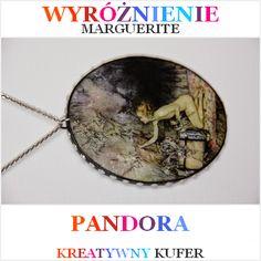 Wyniki Wyzwania Tematycznego - Mityczna postać: Pandora | Kreatywny Kufer http://margueriteslittleart.blogspot.com/