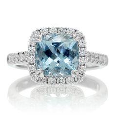 Aquamarine Wedding Bands 4 Unique Aquamarine engagement ring hardness
