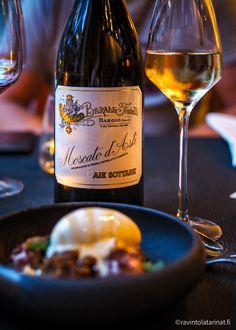 Restaurant PASSIO: A hidden gem of Helsinki - The menu surprises even you! Ms Gs, Prosciutto, Ravioli, Helsinki, White Wine, Alcoholic Drinks, Menu, Finland, Restaurants