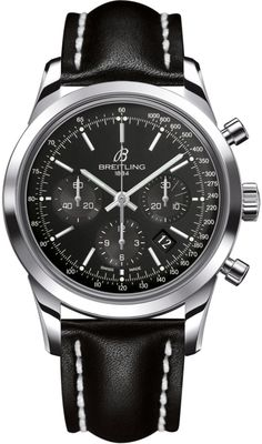 #Breitling Transocean #Chronograph Stainless Steel #Watch
