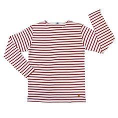 red sailor stripes