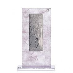 Bomboniera Matrimonio S. Famiglia Argento Rosa - lilla | vendita online su HOLYART