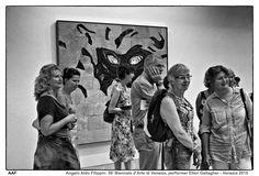 https://flic.kr/p/CZVw5s | 56' Biennale d'Arte di Venezia, performer Ellen Gallagher - Venezia 2015