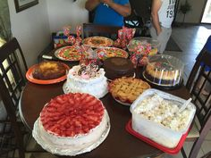 All the desserts I made