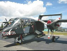 OV10 Bronco used by FACs and FOs in Vietnam