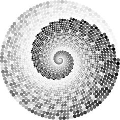 Grayscale Swirling Circles Vortex ❤ liked on Polyvore featuring backgrounds, borders, circle, circular, picture frame and round