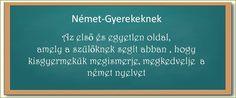 Nézd meg, miben segíthet Neked a Német-Gyerekeknek oldal, ha fontos, hogy gyermeked megismerje, megkedvelje  a német nyelvet.