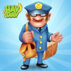 Hay Day Post Man