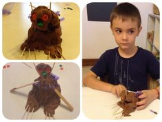Gruffalo playdough Gruffalo Activities, School, Crochet, Ganchillo, Crocheting, Knits, Chrochet, Quilts