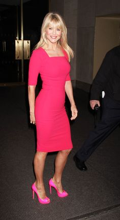 Christie Brinkley at 58. Wow. I'll try to aim for that as my age progresses!  She is my inspiration!