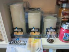 Rainlite Candles- Perfect for indoor/outdoor. Weather & Child Safe!