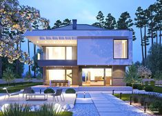 Dream Home Design, House Design, Two Storey House, Luxury House Plans, Home Fashion, Home Projects, Building A House, Mansions, How To Plan