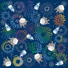 Conception de Summer STOCK Totoro Origami par japanese2please