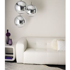 Home i interior i furniture i kitchen i eating mirror ball lighting mirror ball silver pendant light by tom dixon aloadofball Image collections