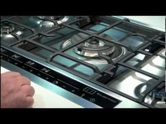 Kleenmaid Electronic Control Gas Cooktop Demonstration