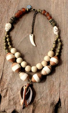 A FAIRY TALE  African Bohemian necklace by DazzlingGypsyQueen, €139.95