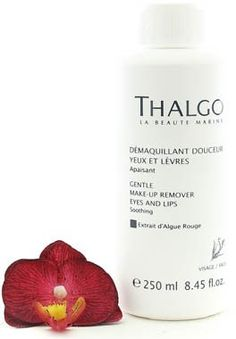 Thalgo Gentle Makeup Remover Eyes and Lips  Demaquillant Douceur Yeux et Levres 250ml845oz Salon Size -- Check this awesome product by going to the link at the image.