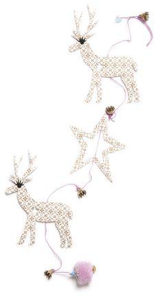 Rie Elise Larsen reindeer christmas decoration