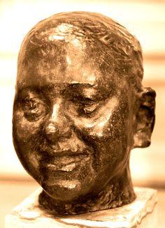 Le rieur (vers 1891-92) par Camille CLAUDEL (1864-1943) - Bronze, fonte au sable Alexis Rudier en 1925. Musée Rodin à Paris. Photo Hervé Leyrit.